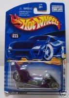 Hot Wheels 2001 Fright Bike 1st Ed 21/36 #033 MONMC