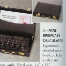 Mini Briefcase Calculator