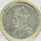 SILVER 1934 NEW ZEALAND 1/2 CROWN !!