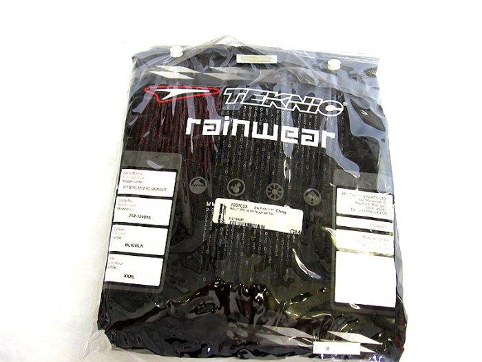 Teknic Rainsuit Black or Yellow XXL XXXL Rain Suit On Sale 29.95