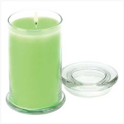 PEAR SCENTED JAR CANDLE
