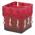MORCCAN NIGHTS JEWELED CANDLE