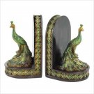 PEACOCK BOOKENDS
