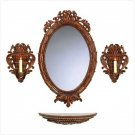 CARVED TUSCAN WALL DECOR ENSEMBLE-ITEM #38302