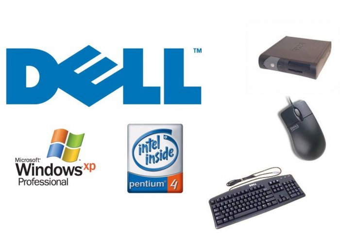 DELL OPTIPLEX GX260 P4 2.8GHZ 512MB 40GB DVD XP PRO