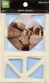 Making Memories Baby Blue II Photo Corners