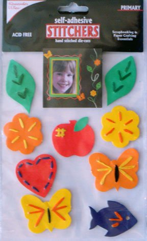 Colorbok Primary Stitchers Die-Cuts