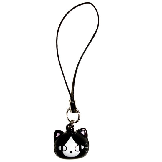 Cat Bell Cell Phone Charm
