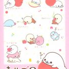 Mamegoma Little Seals Memo Pad