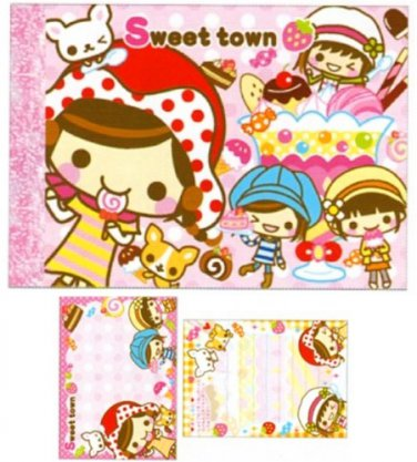 Crux Sweet Town Small Memo Pad