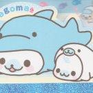 "San-X Mamegoma Marine Little Seals ""Dolphin"" Small Memo Pad"