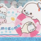 "San-X Mamegoma Marine Little Seals ""Sailor"" Small Memo Pad"