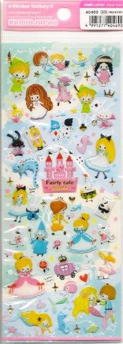 "Kamio ""Fairytale World"" Epoxy Puffy Sticker Sheet"