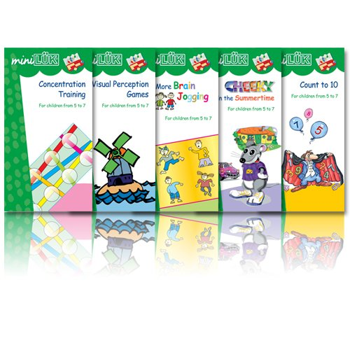 miniLUK Brain Training Young Explorer Collection Set 2