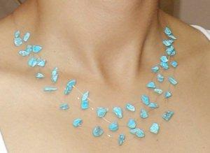 three loops necklace - collar 3 vueltas