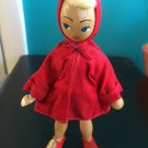 Vintage 1950s 1960s Gromada Polish peg wooden doll 7 inches #24