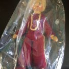 Vintage 1950s 1960s Gromada Polish peg wooden doll 7 inches #17