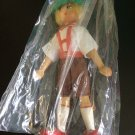 Vintage 1950s 1960s Gromada Polish peg wooden doll 7 inches #16