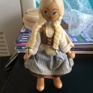 Vintage 1950s 1960s Gromada Polish peg wooden doll 7 inches #08