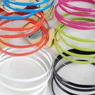 Bracelet 4pcs Metal Bangle Epoxy 6 Color Asst/DZ 6 Color asst