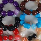 Bracelet & Earring Sets Large Lucite MarbleStretch/dz **NEW** Stretch,6 Color asst