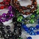 Bracelet & Earring Sets Metallic Ball W Solid Beads/DZ/dz **NEW** 6 Color Asst