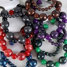 Bracelet & Earring Sets,Silky Marble & Beads/dz **NEW** 6 Color Asst