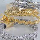 Bracelets 3pcs Bangle Twist /DZ ** Bangle 3pcs Twist,Choose Gold or Silver