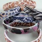 Sleeve Holders Or Bracelet/Stretchy Animal Print Asst Patterns