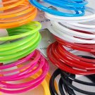 Bangles 8pc Acrylic Stackable Asse colors/dz 8 Color Asst - YBT560