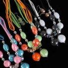 Necklace Sets Big Ball W CC Beads/DZ ** New Arrival** Color Asst