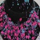 Necklace Sets Lucite w Ovel Beads/DZ *8color asst