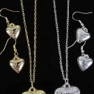 Necklace Sets Puff Heart/DZ **New Arrival** Tiffany Look Like