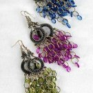 Earrings Chandlair Victoria Look 3'' long/DZ 6 Color asst