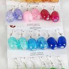 Earrings  Acrylic drop Earrings/DZ 6 Color asst