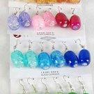 Earrings  Acrylic drop Earrings/DZ 6 Color asst