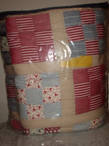 RARE TOMMY HILFIGER Patchwork Queen QUILT NIP HTF *REDUCED PRICE*