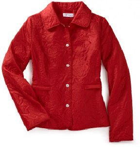 J.G. Hook Quilted Jacket in red XL NEW