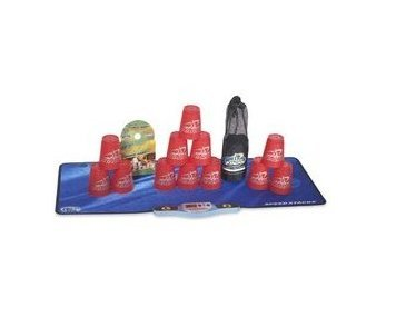 Play Along Speed Stacks RED StackPack Competitive Game NIB