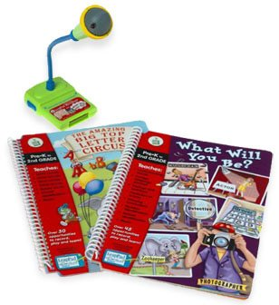LeapPad Microphone with Books by Leap Frog *Brand New*