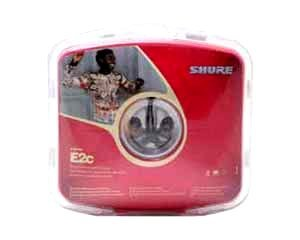 Shure E2C Sound Isolating Earphones (Black) NEW