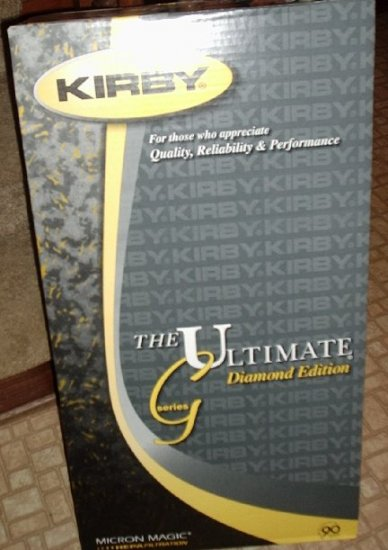 NEW KIRBY Ultimate G Diamond Edition Vacuum Cleaning System NIB