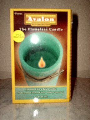 Avalon Flameless Candle (scent: COASTLINE) Brand NEW