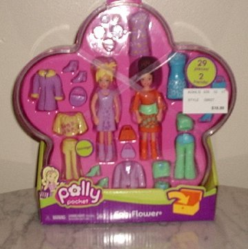 Polly Pocket Fab Flower NEW in case