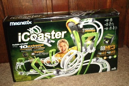 NEW MAGNETIX ICOASTER MP3 MUSIC STUDIO ROLLER I COASTER