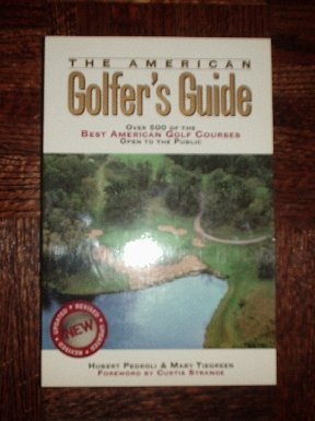 The American Golfer's Guide (paperback book) New