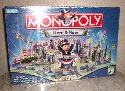 Hasbro Monopoly Here & Now Limited Edition New in Box