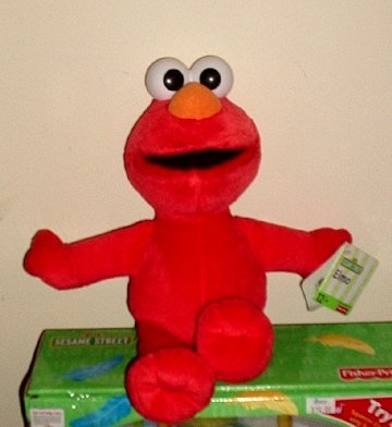 Sesame Street - Plush - Elmo Collectible NEW