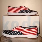 NEW Keds Champions  Red / White / Blue womens 8 NIB