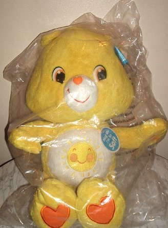 "NEW Care Bears Jumbo Huggable Plush Funshine 25"" Bear *Brand NEW*"
